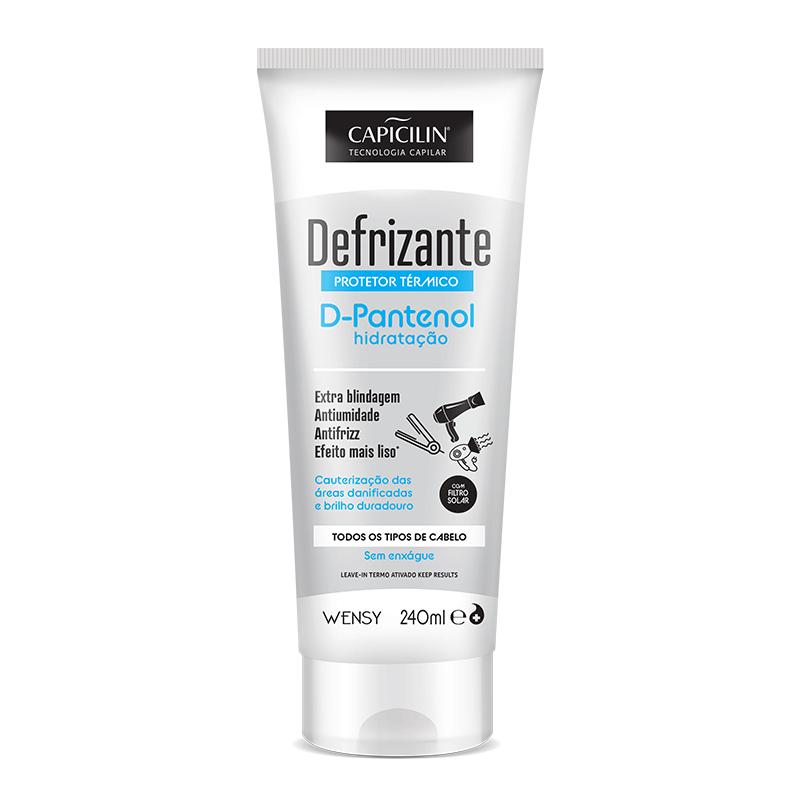 Defrizante Protetor Térmico D-Pantenol Hidratação