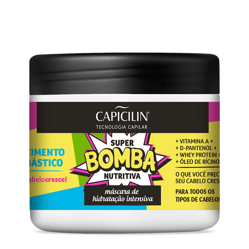 Kit Super Bomba Nutritiva Capicilin