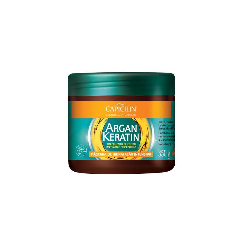 Máscara de Hidratação Intensiva Argan Keratin 350g