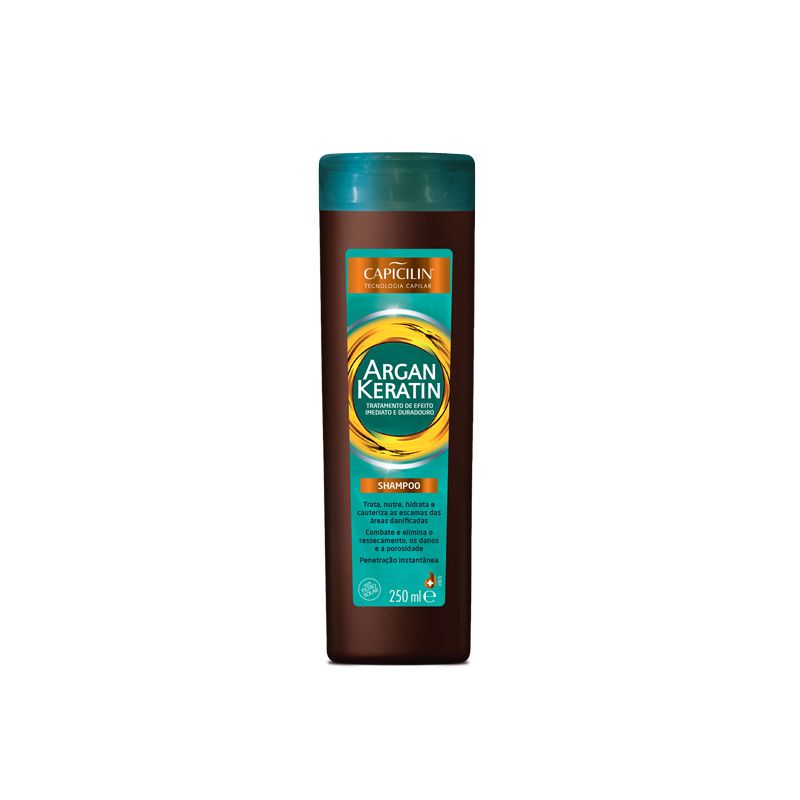 Shampoo Argan Keratin 250ml