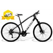 Bicicleta GTSM1 I-Vtec  aro 29 Corrida freio a disco 27 marchas suspensão com Trava+ Brinde Capacete