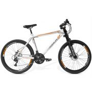 Bicicleta GTS Aro 26 Freio a Disco Câmbio Shimano 21 Marchas e Amortecedor | GTS M1 Walk Downhill