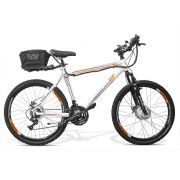 Bicicleta Elétrica GTS Aro 26 Freio a Disco Câmbio Shimano 21 Marchas e Amortecedor | GTS M1 Walk 1.0