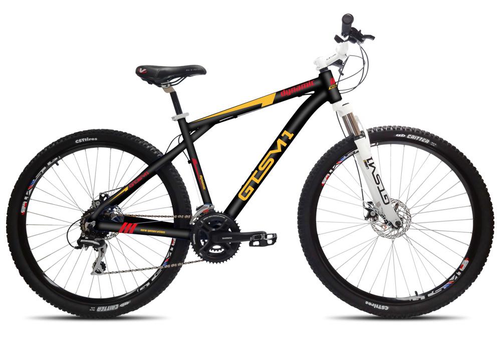 Bicicleta GTS Aro 29 com Freio a Disco Hidráulico Câmbio Shimano 24 Marchas e Amortecedor | GTS M1 Dynamic