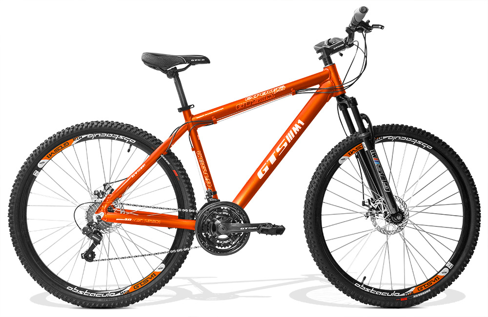 Bicicleta GTSM1 Expert 1.0 aro 29 freio a disco 24 marchas + Brindes Ciclo Computador + Squeeze e Suporte