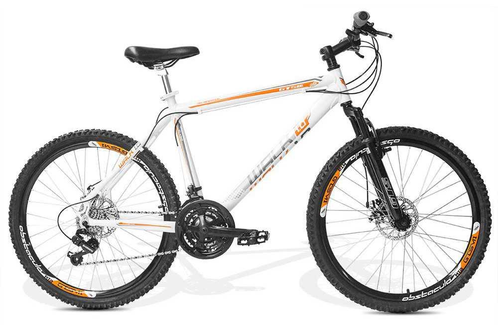Bicicleta Feminina GTS Aro 26 Freio a Disco Câmbio Shimano 21 Marchas e Amortecedor | GTS M1 Walk 1.0