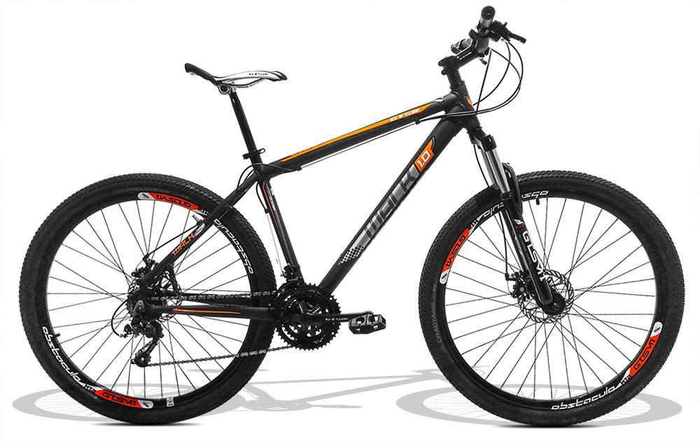 Bicicleta GTS Aro 29 Freio a Disco Câmbio Traseiro Shimano 24 Marchas e Amortecedor + Velocímetro e Bomba de Encher Pneu de Brinde | GTS M1 Walk 1.0