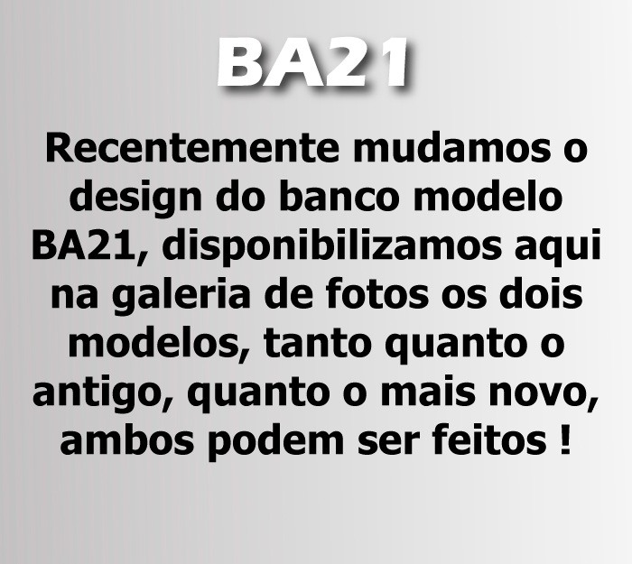 BA21 - RECLINÁVEL  - SM Race