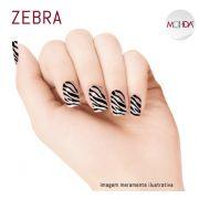Tattoo para unhas Mohda - Zebra