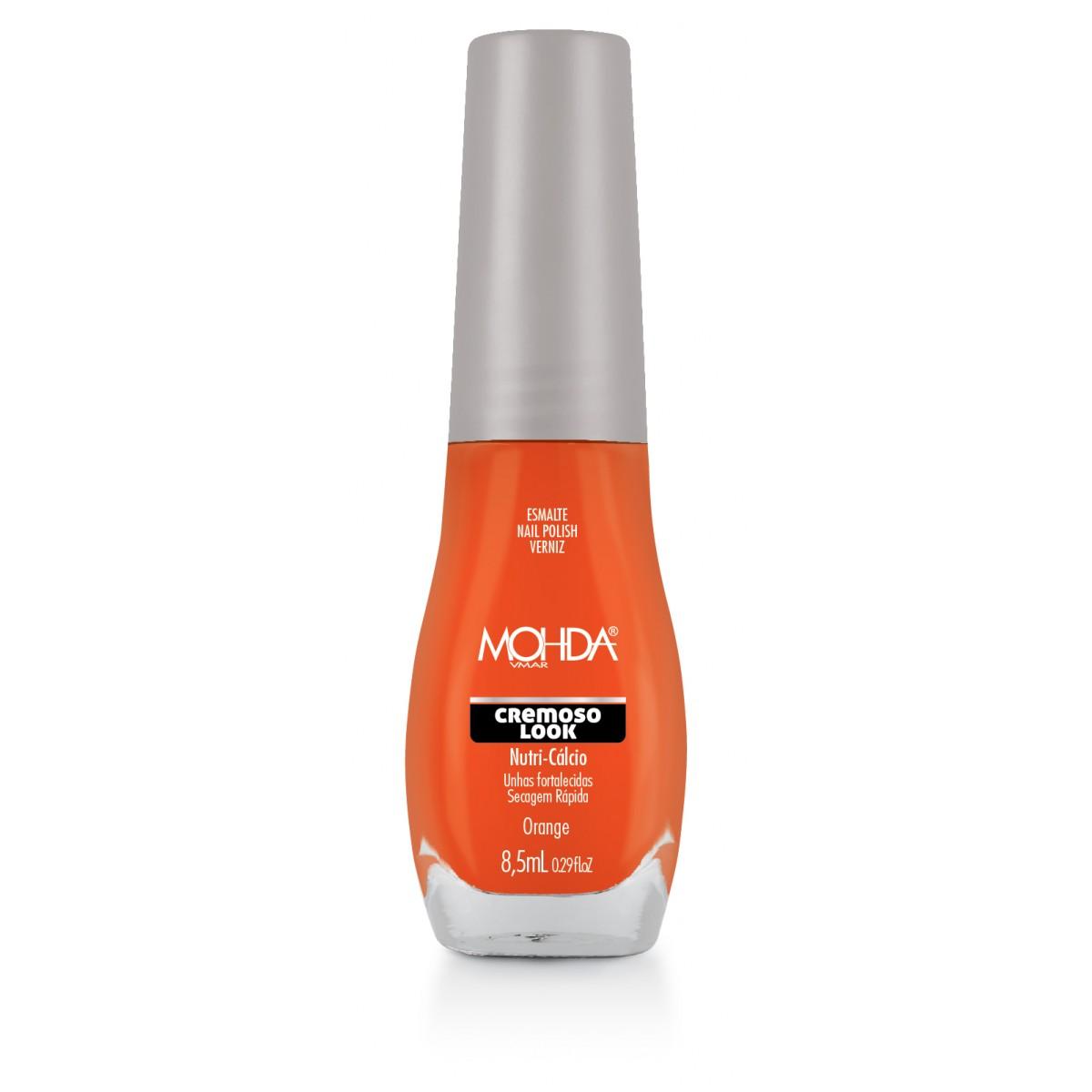 Esmalte Mohda Cremoso Look - Orange  - E-Mohda