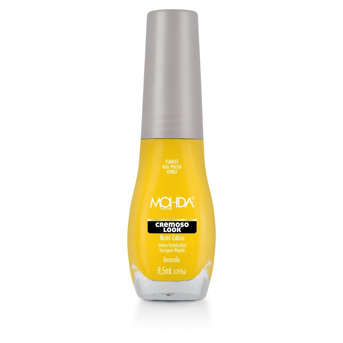 Esmalte Mohda Cremoso Look - Amarelo  - Maria Pomposa