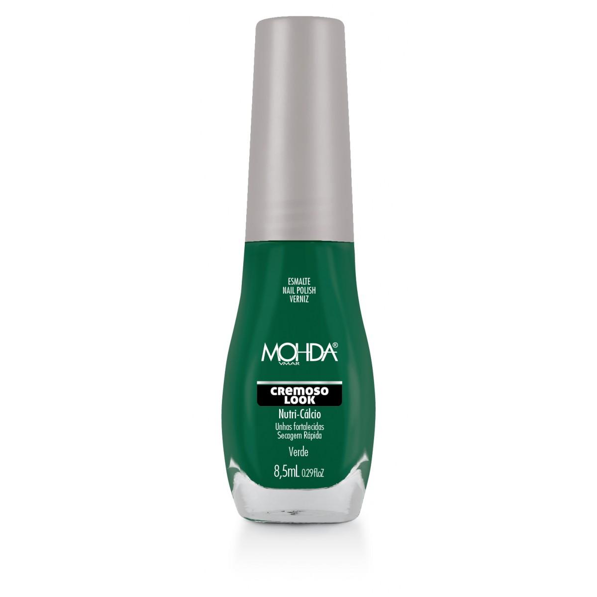 Esmalte Mohda Cremoso Look - Verde  - E-Mohda