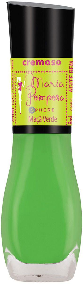 Esmalte Maria Pomposa NEON - Maça Verde  - E-Mohda