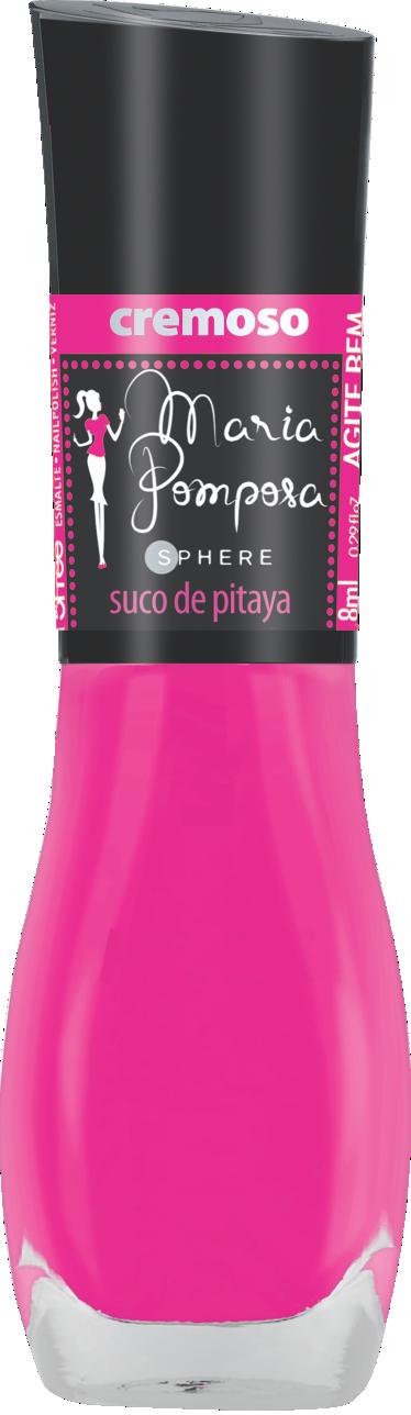 Esmalte Maria Pomposa - Suco de Pitaya  - E-Mohda
