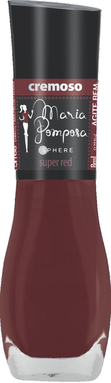 Esmalte Maria Pomposa - Super Red  - E-Mohda