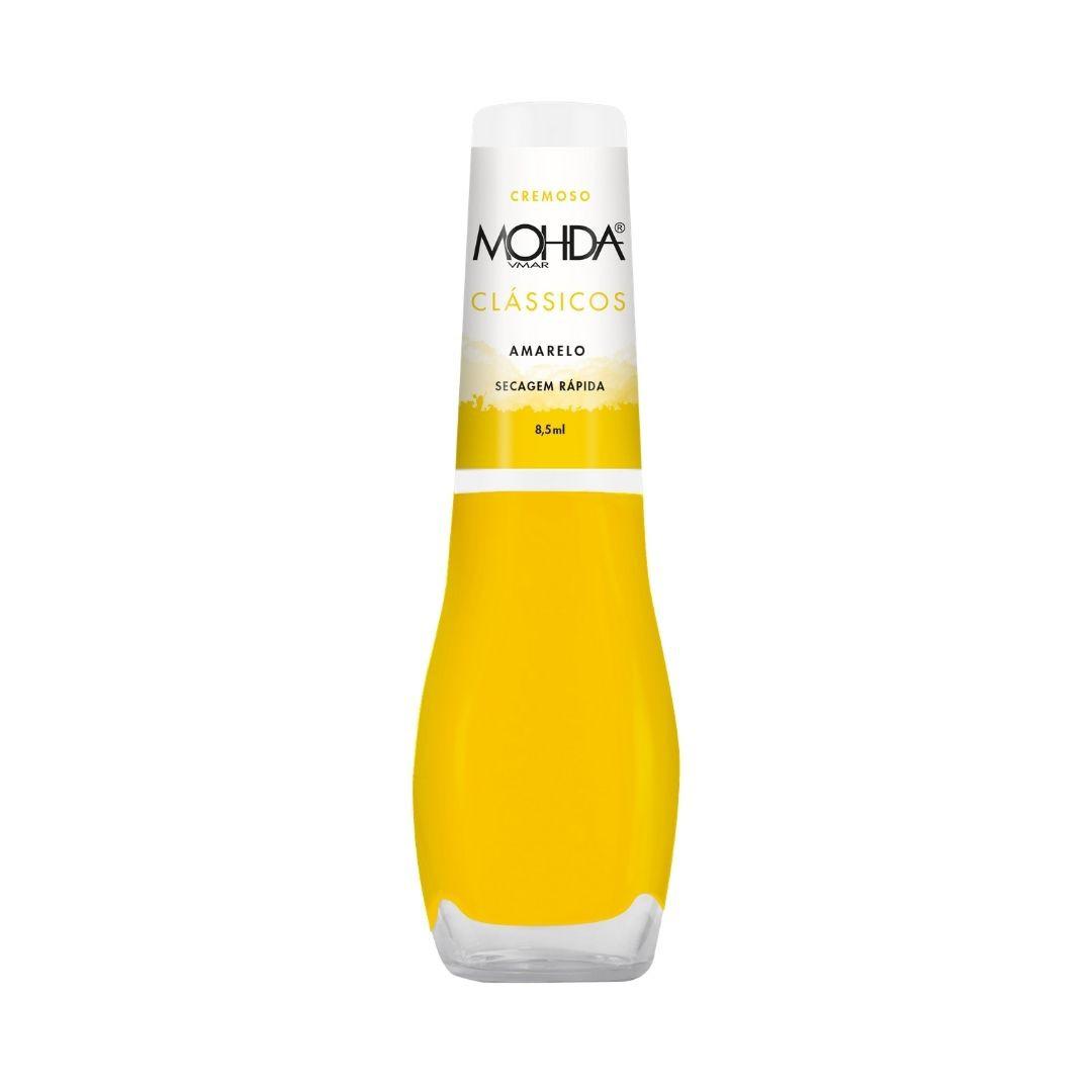Esmalte Mohda Cremoso - Amarelo  - E-Mohda
