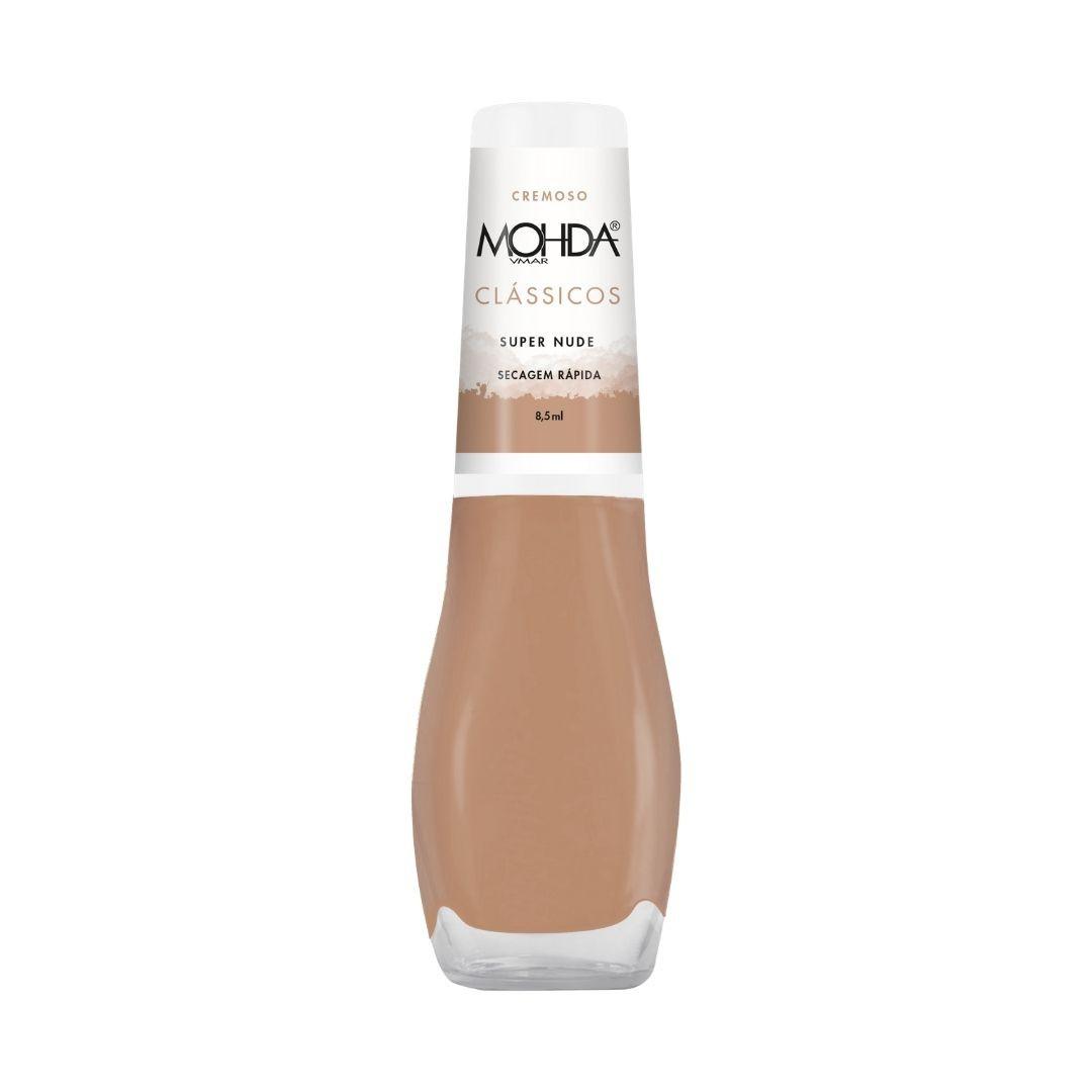 Esmalte Mohda Cremoso - Super Nude  - E-Mohda
