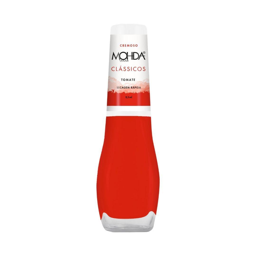 Esmalte Mohda Cremoso - Tomate  - E-Mohda