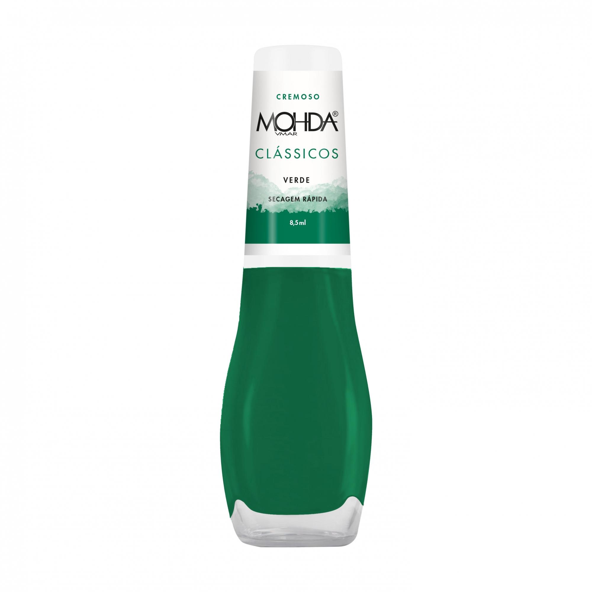Esmalte Mohda Cremoso - Verde  - E-Mohda