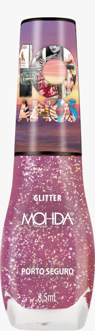 Esmalte Mohda Glitter - Porto Seguro ( 10 anos)  - E-Mohda