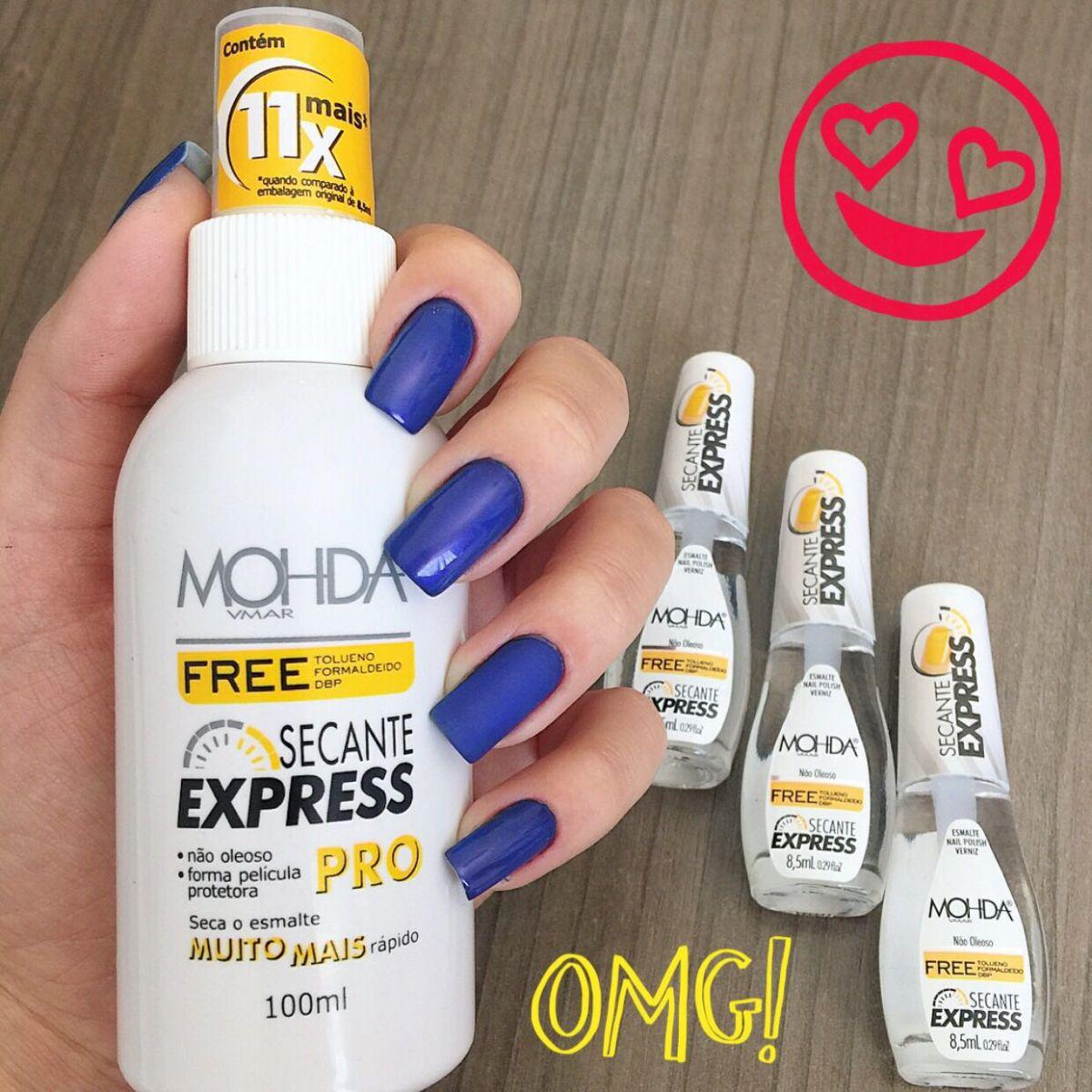 Secante Express PRO - 100 ml  - E-Mohda