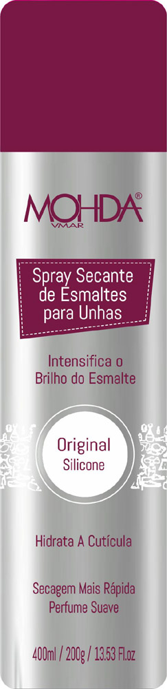 Spray Secante com Silicone (400 ml)  - E-Mohda