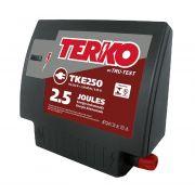 Eletrificador de Cerca Rural Terko TKE 250 - 2 joules liberados