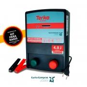 Eletrificador de Cerca Rural Terko TK 4000