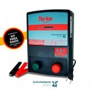 Eletrificador de Cerca Rural Terko TK 8000