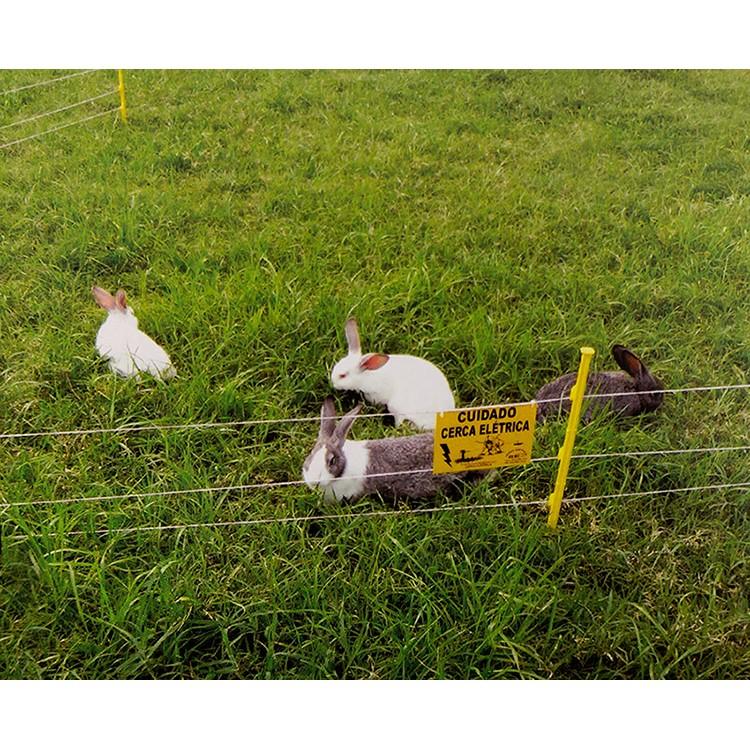 Cerca Elétrica para Pequenos Animais como Cães, Galinhas e Coelhos  - Curto Compras Rural