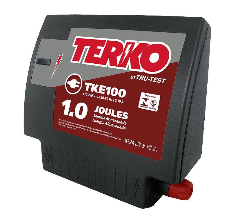 Eletrificador de Cerca Rural Terko TKE 100 - 0,8 joules liberados  - Curto Compras Rural