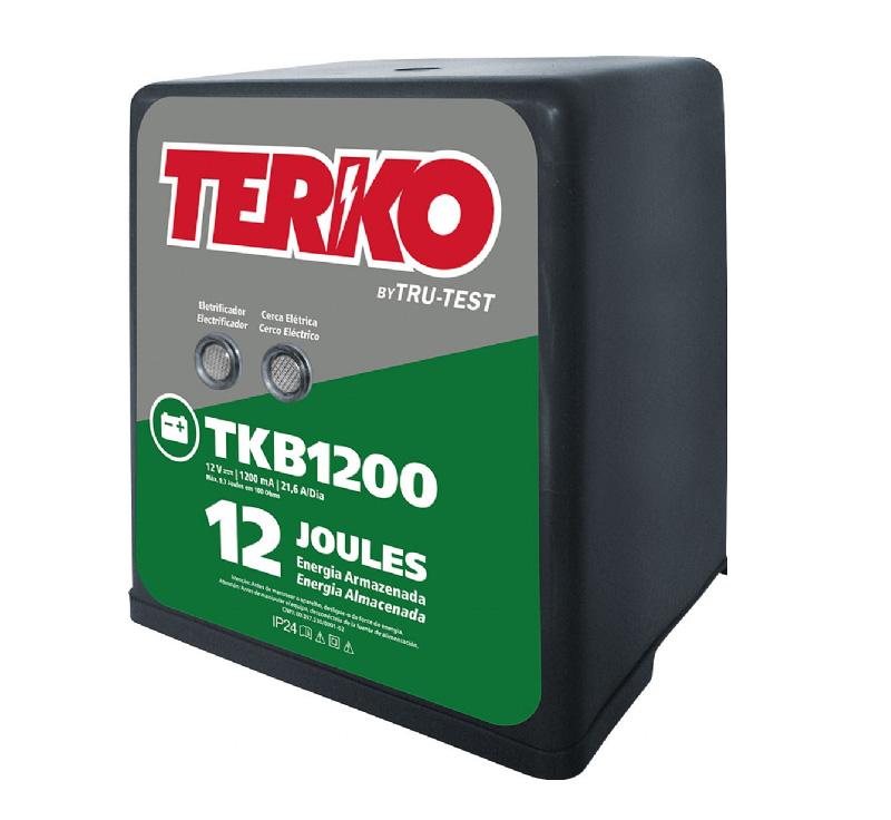 Eletrificador de Cerca Rural Terko TKB 1200 - 9,3 joules liberados  - Curto Compras Rural