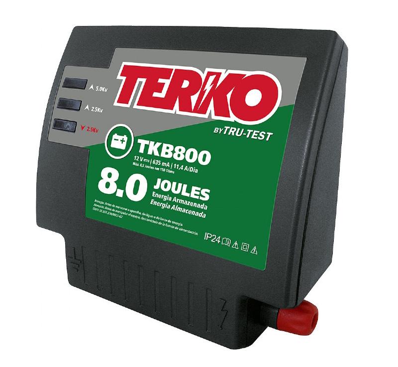 Eletrificador de Cerca Rural Terko TKB 800 - 6,4 joules liberados  - Curto Compras Rural