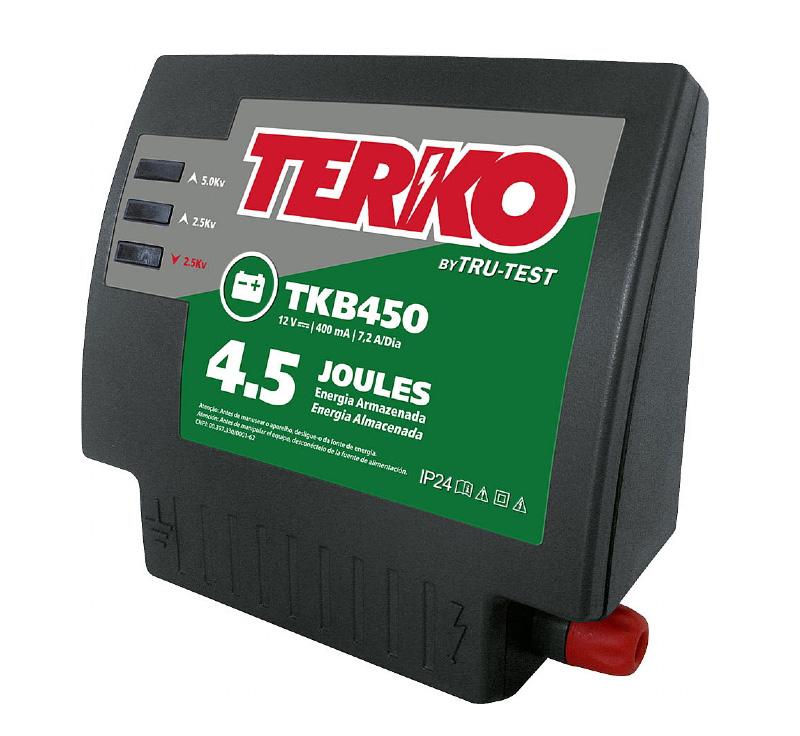 Eletrificador de Cerca Rural Terko TKB 450 - 3,6 joules liberados  - Curto Compras Rural