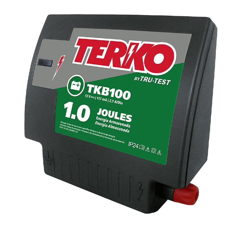 Eletrificador de Cerca Rural Terko TKB 100 - 1 joules liberados  - Curto Compras Rural