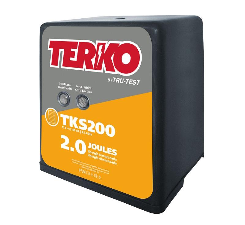 Eletrificador de Cerca Rural Terko TKS 200 - 1,5 joules liberados  - Curto Compras Rural