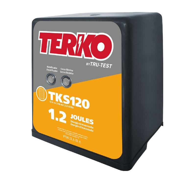 Eletrificador de Cerca Rural Terko TKS 120 - 0,9 joules liberados  - Curto Compras Rural
