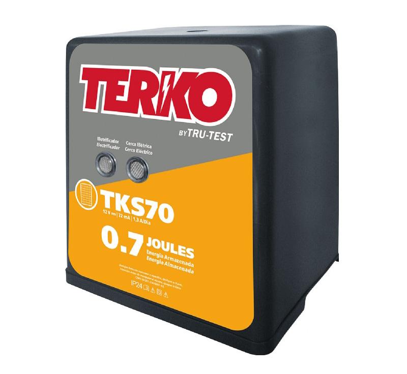Eletrificador de Cerca Rural Terko TKS 70 - 0,5 joules liberados  - Curto Compras Rural