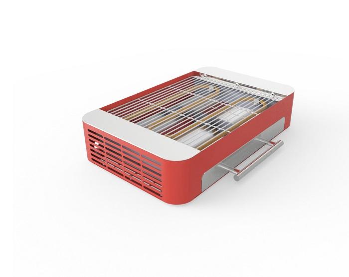 Churrasqueira Elétrica Stang Picnic Grill Vermelha Anodilar   - Curto Compras Rural