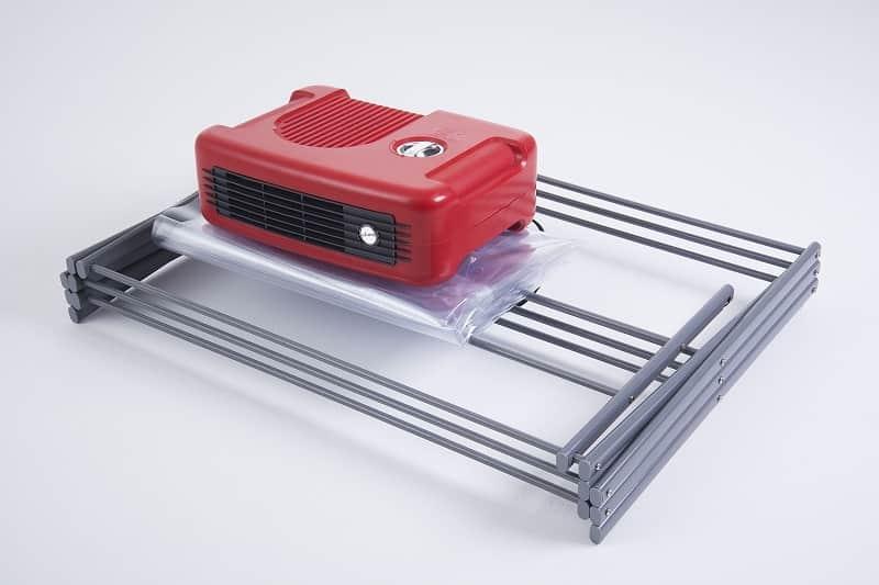 Secadora de Roupas com Varal Stang 1400W Vermelho Anodilar  - Curto Compras Rural
