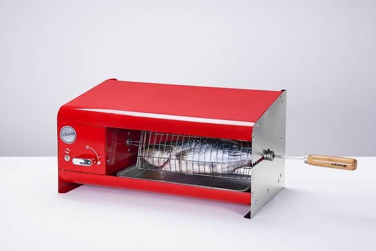 Churrasqueira Nano Rotativa Elétrica Stang Vermelha  - Curto Compras Rural