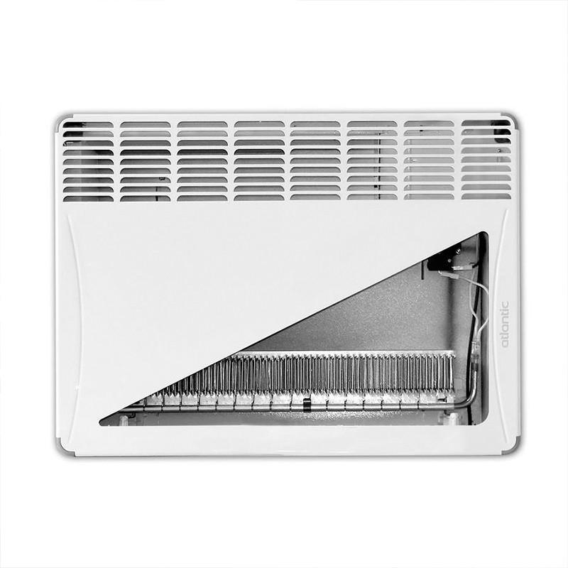 Aquecedor Elétrico de Ambientes Calefator de Parede 1500W Atlantic 220V  - Curto Compras Rural