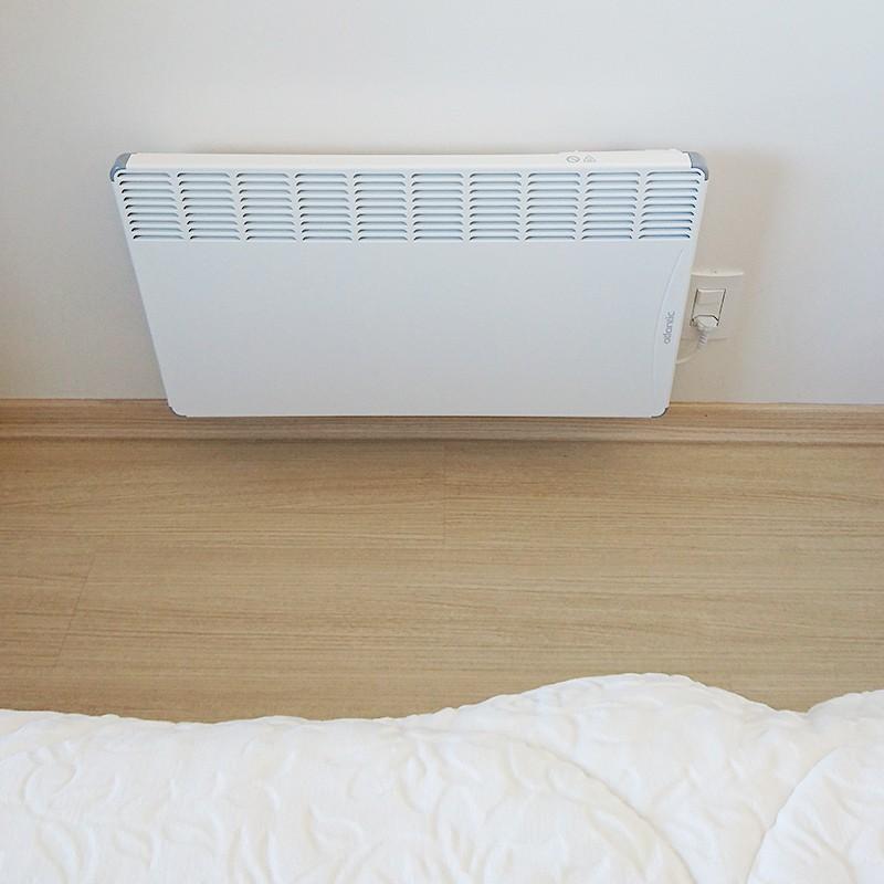 Aquecedor Elétrico de Ambientes Calefator de Parede 2000W Atlantic 220V  - Curto Compras Rural
