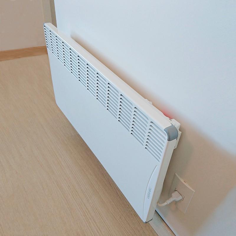 Aquecedor Elétrico de Ambientes Calefator de Parede 2500W Atlantic 220V  - Curto Compras Rural