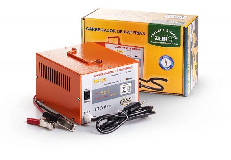 Carregador de Baterias 10Ah  - Curto Compras Rural