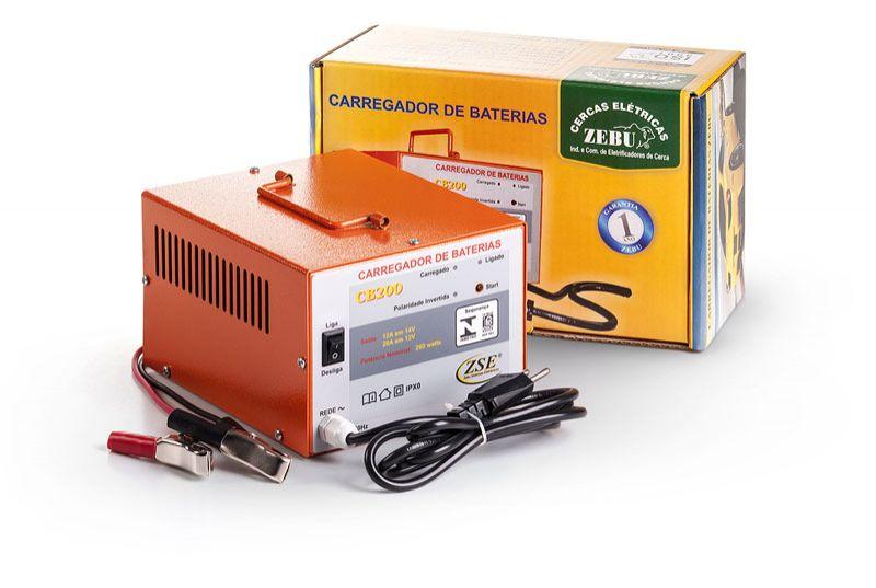 Carregador de Baterias 20 Ah  - Curto Compras Rural