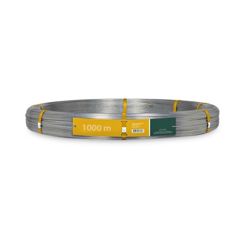 Arame Liso para Cerca Elétrica Rural 2,1 mm 1000m  - Curto Compras Rural
