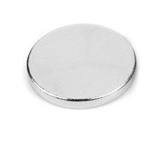 Imã de Neodímio Disco N35 8x1,5 mm