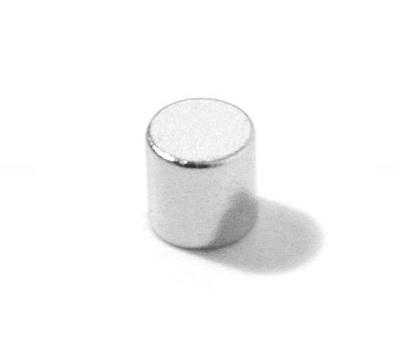 Imã de Neodímio Cilindro N35 5x5 mm