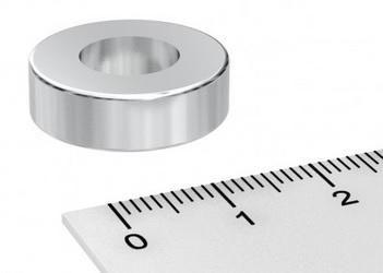 Imã de Neodímio Anel N42 20x6,35x10 mm